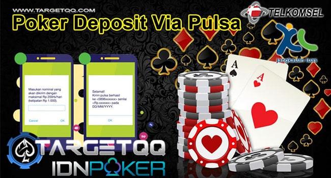 Daftar IDNPoker Deposit Pulsa