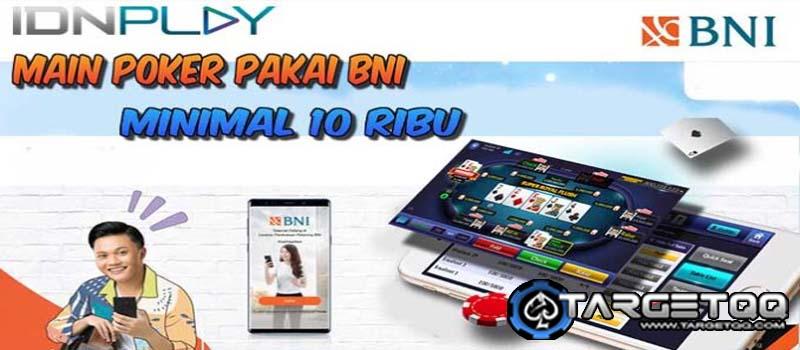 Situs Poker Bank BNI